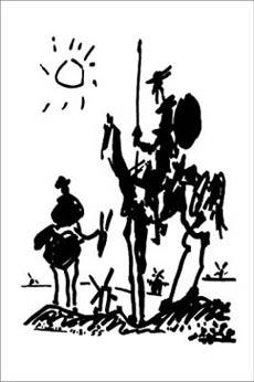 Picasso-Don-Quixote-Poster