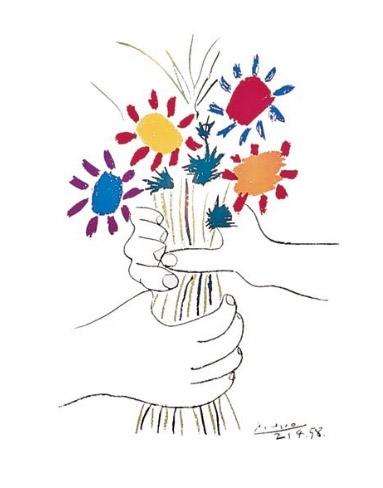 Picasso-Petite-Fleures-Poster