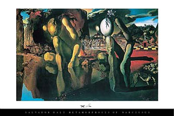 Salvador-Dali-Metamorphosis-of-Narcissus-Poster