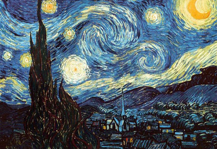 Vincent Van Gogh Starry Night Click Add to Cart to Order