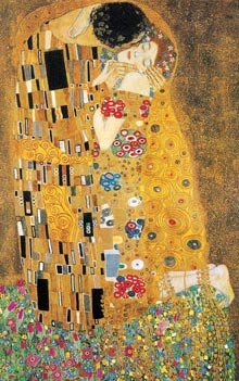 Klimt the Kiss Poster