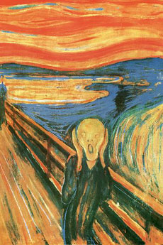 Munch the Scream Poster