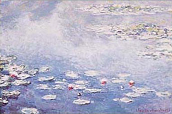 Monet Waterlillies Poster