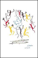 Picasso Dance of Youth Poster