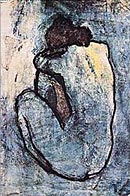 Picasso Blue Nude Poster