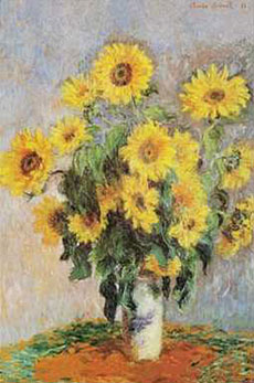 Monet-Sunflowers-1881