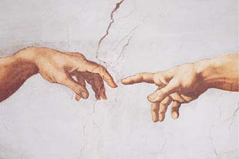 Michelangelo-Creation-of-Adam-Poster