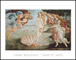 Birth of Venus Art Print Click here to zoom in