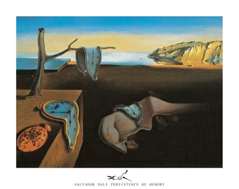 Persistence of Memory Art Print Click Add to Cart to Order