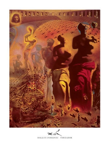 Dali Hallucinogenic Toreador Print Click Add to Cart to Order
