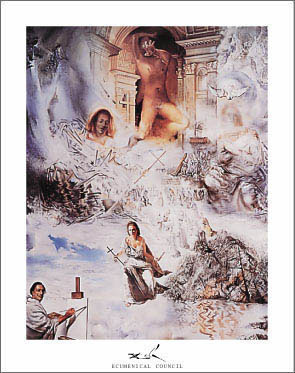 Dali Ecumenical Council Print Click Add to Cart to Order