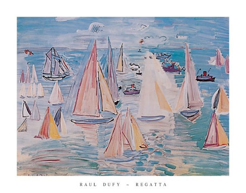 Dufy Regatta Art Print Click Add to Cart to Order