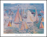 Dufy Regatta Art Print Click here to zoom in
