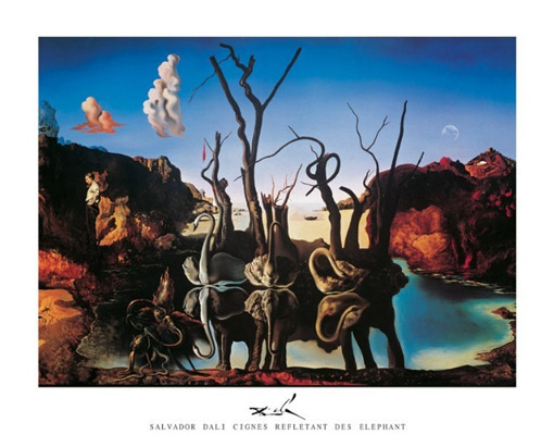 Dali-Swans-Reflecting-Elephants-Art-Print