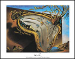 Dali Clock Explosion Art Print Click here to zoom in