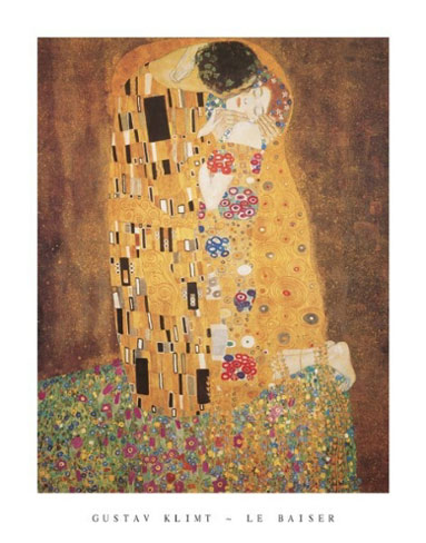 Klimt Le Baiser Art Print Click Add to Cart to Order