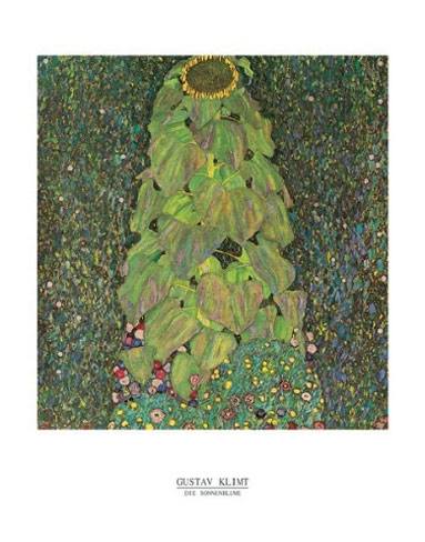 Klimt Sunflower Art Print Click Add to Cart to Order