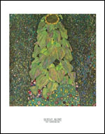 Klimt Sunflower Art Print Click here to zoom in