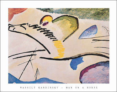 Kandinsky Man on a Horse Art Print Click Add to Cart to Order