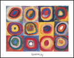 Kandinsky Farbstudie Art Print Click here to zoom in