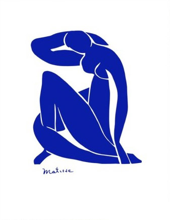 Matisse Blue Nude Art Print Click Add to Cart to Order
