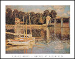 Bridge at Argenteuil Art Print Click here to zoom in