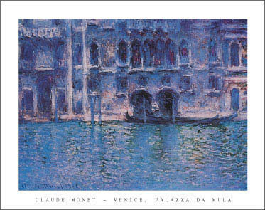 Monet Venice Art Print Click Add to Cart to Order