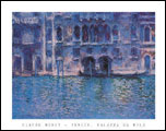 Monet Venice Art Print Click here to zoom in