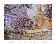 Monet Le Parc Monceau Art Print Click here to zoom in