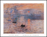 Monet Impression Sunrise Art Print Click here to zoom in