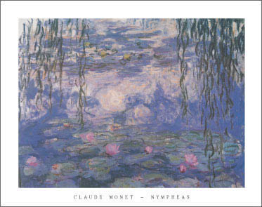 Monet Nympheas Art Print Click Add to Cart to Order