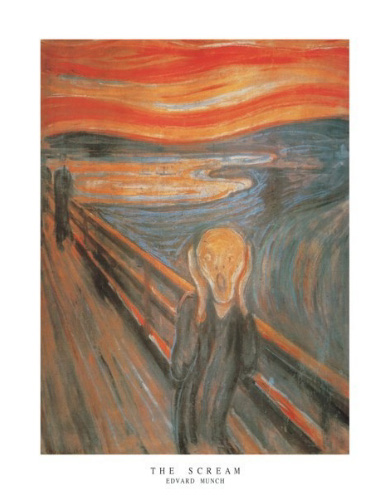 Munch the Scream Art Print Click Add to Cart to Order