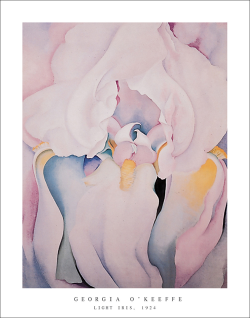 Georgia-O-Keeffe-Light-Iris-1924-Art-Print