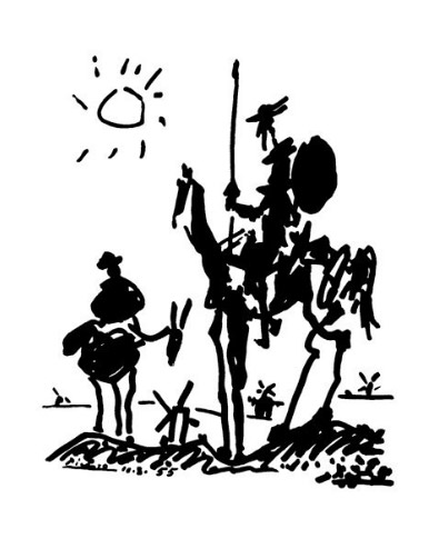 Don Quixote Art Print Click Add to Cart to Order