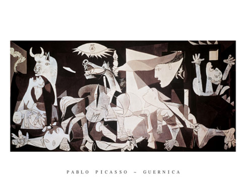 Picasso Guernica Art Print Click Add to Cart to Order