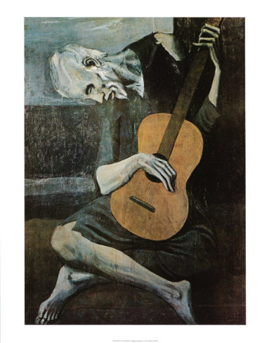 Picasso Old Guitarist Art Print Click Add to Cart to Order