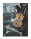 Picasso Old Guitarist Art Print Click here to zoom in