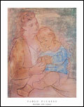 Pablo Picasso Mother and Child Art Print Click here to zoom in