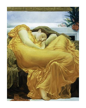 Lord Leighton Flaming June