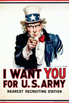 I Want You For US Army Uncle Sam Poster