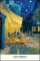 Cafe Terrace Van Gogh Poster