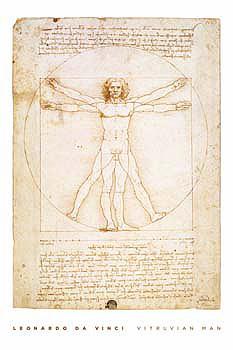 Leonardo-Da-Vinci-Vitruvian-Man-Poster