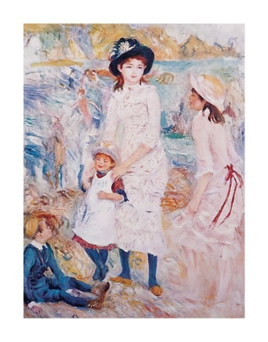 Renoir-Children-By-the-Seashore-Art-Print