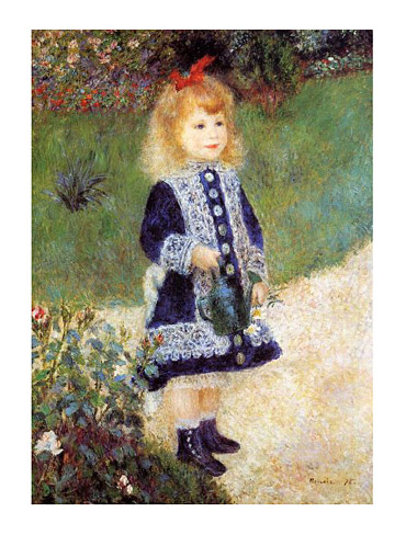 Renoir Girl with a Watering Can Art Print Click Add to Cart to Order