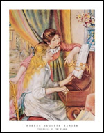 Renoir Two Girls At the Piano Art Print Click here to zoom in