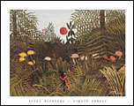 Rousseau Virgin Forest Art Print Click here to zoom in
