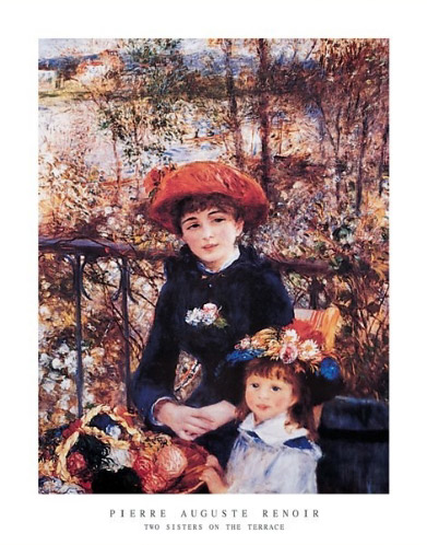 Renoir Two Sisters Art Print Click Add to Cart to Order