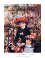 Renoir Two Sisters on the Terrace Art Print Click here to zoom in