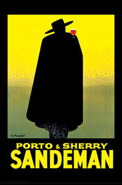 Porto-and-Sandeman-Sherry-Poster