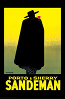 Massiot Sandeman Sherry Poster
